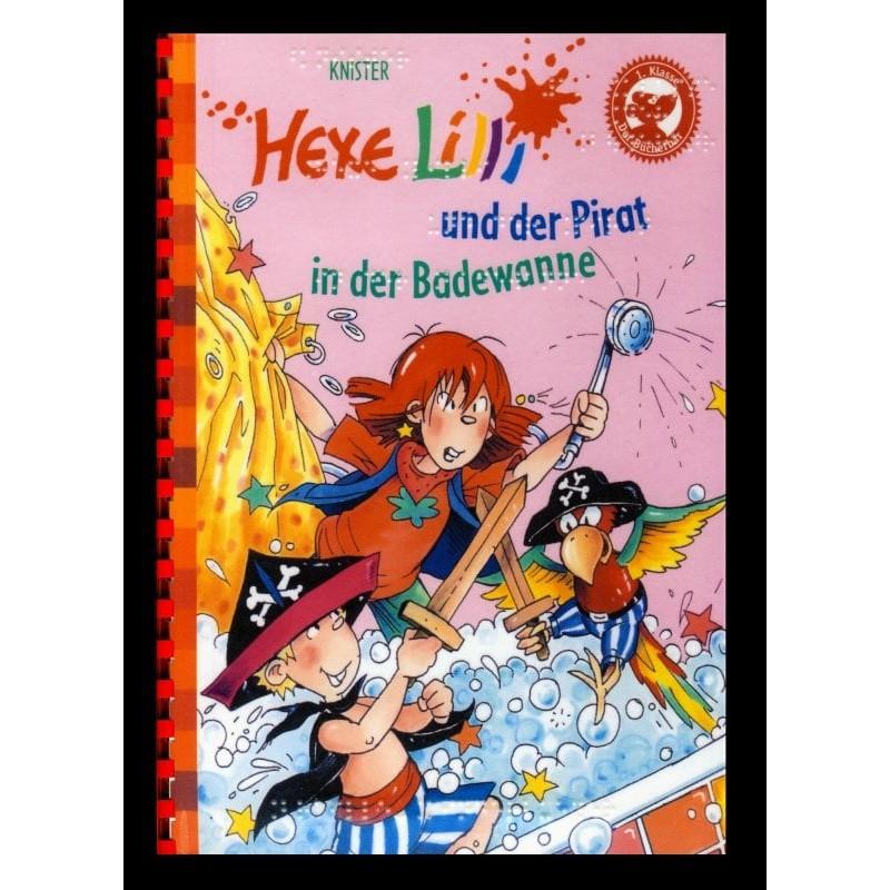Ein Bild von dem Buch Hexe Lilli und der Pirat in der Badewanne