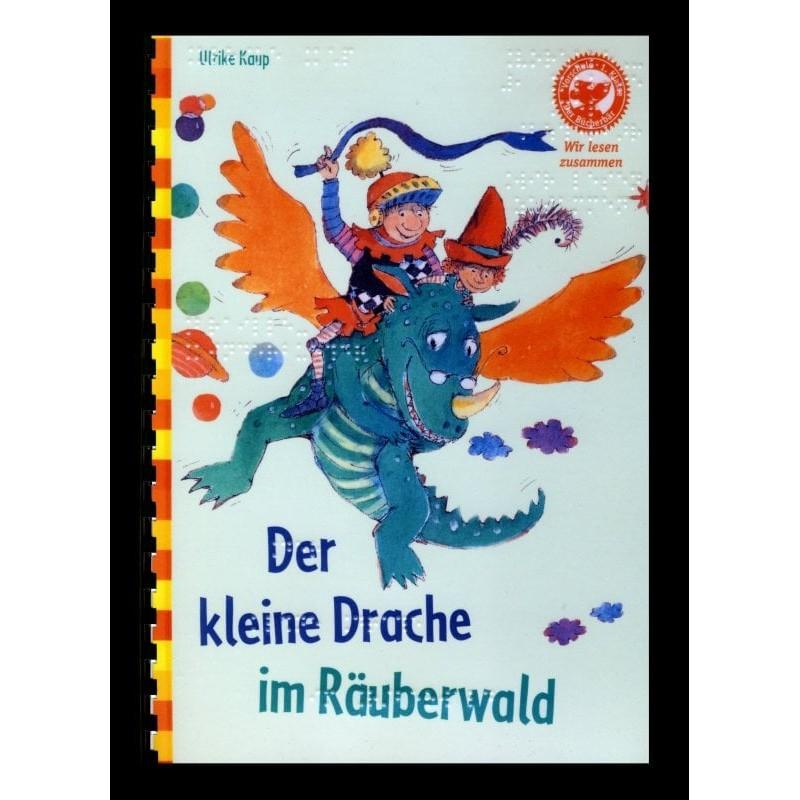 Ein Bild von dem Buch Der kleine Drache im Räuberwald