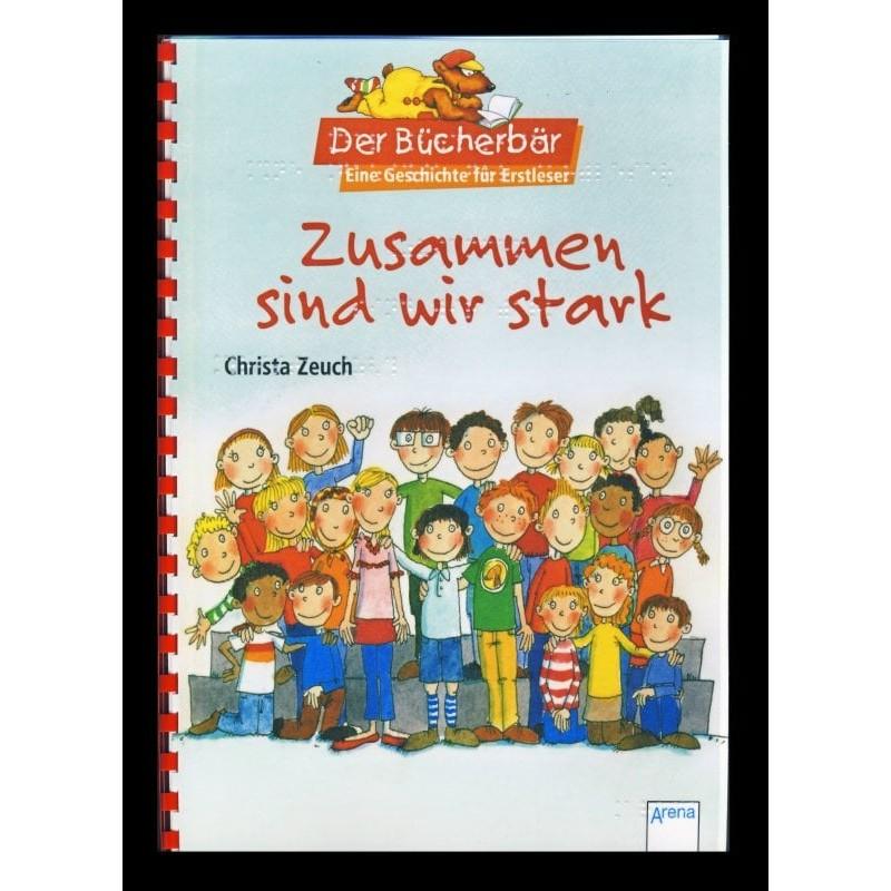 Ein Bild von dem Buch Zusammen sind wir stark