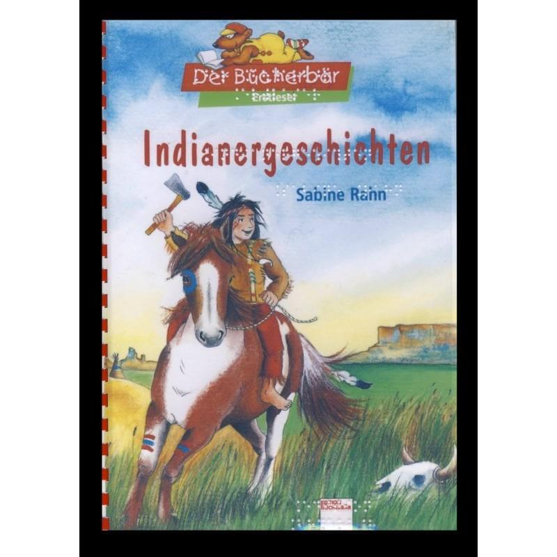 Ein Bild von dem Buch Indianergeschichten