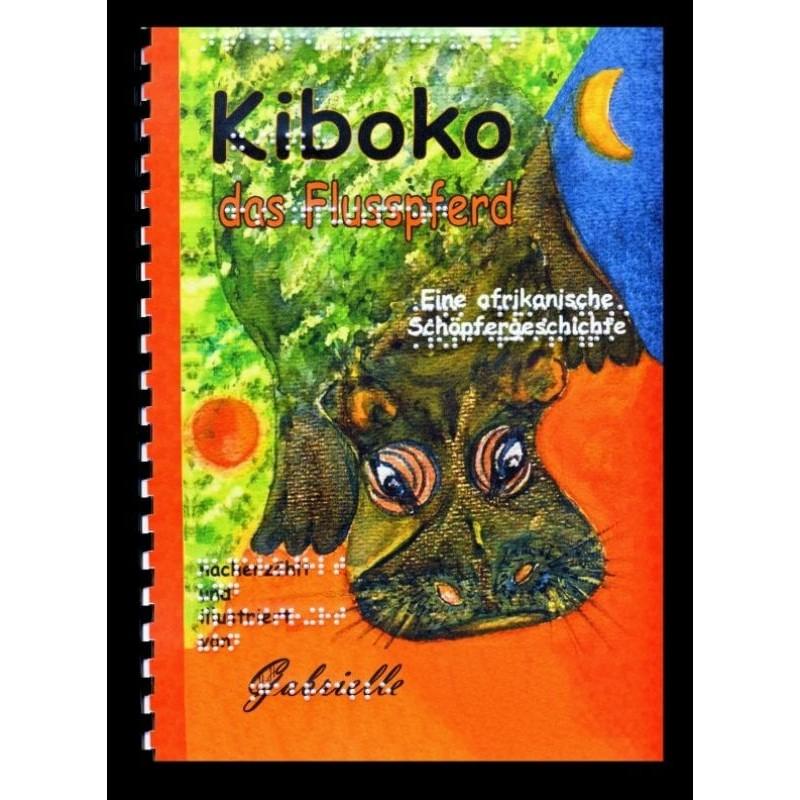 Ein Bild von dem Buch Kiboko das Flusspferd