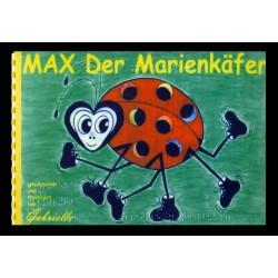 Ein Bild von dem Buch Max der Marienkäfer