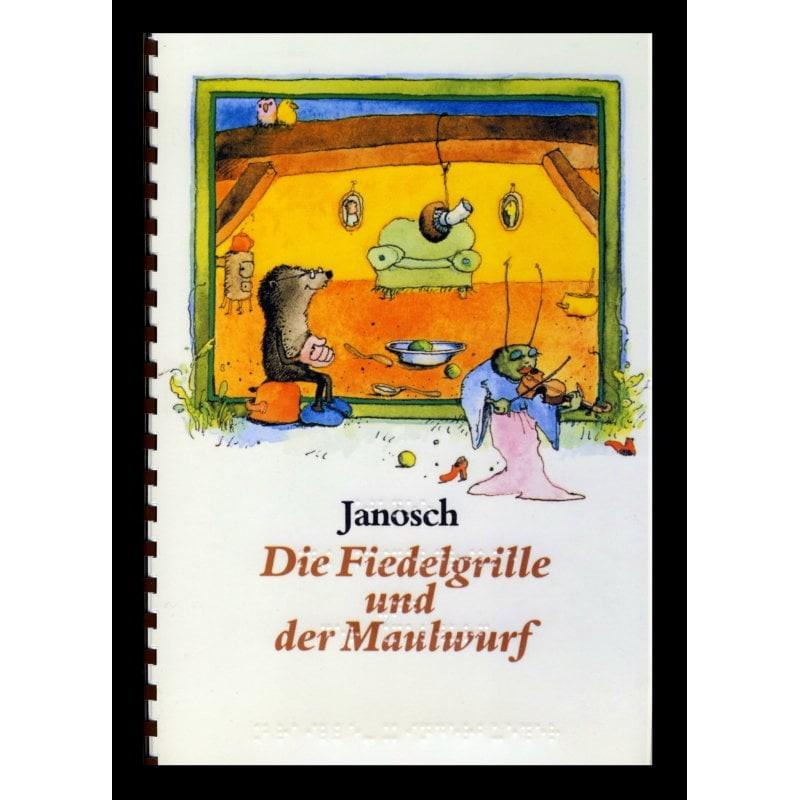 Ein Bild von dem Buch Die Fiedelgrille und der Maulwurf