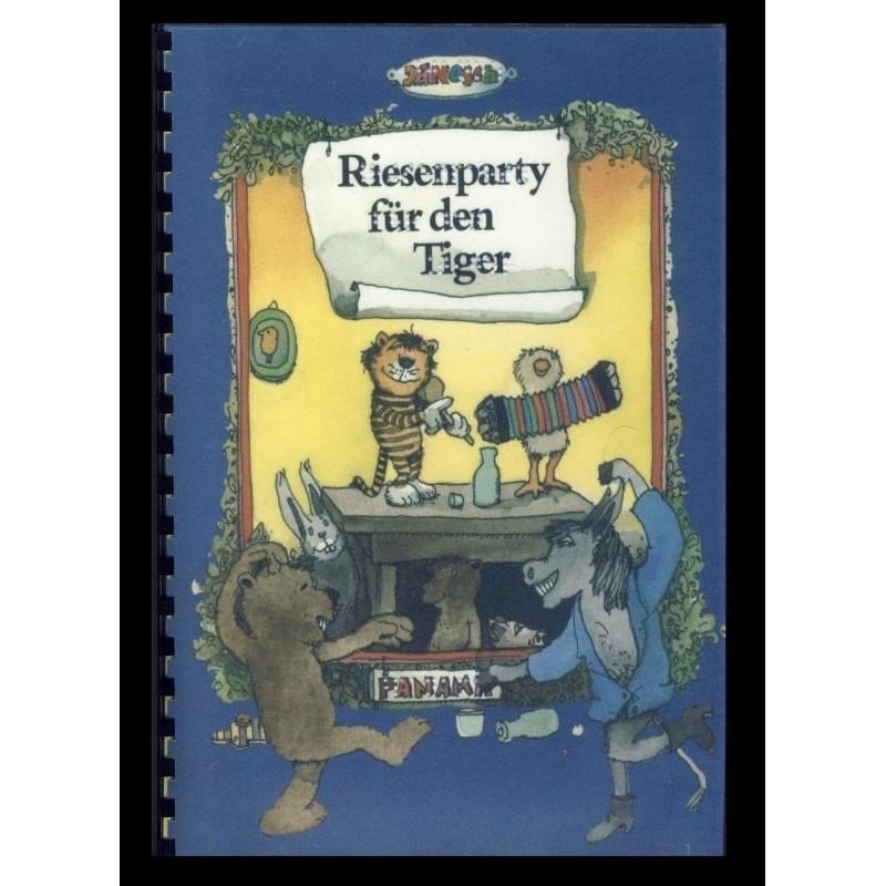 Ein Bild von dem Buch Riesenparty für den Tiger