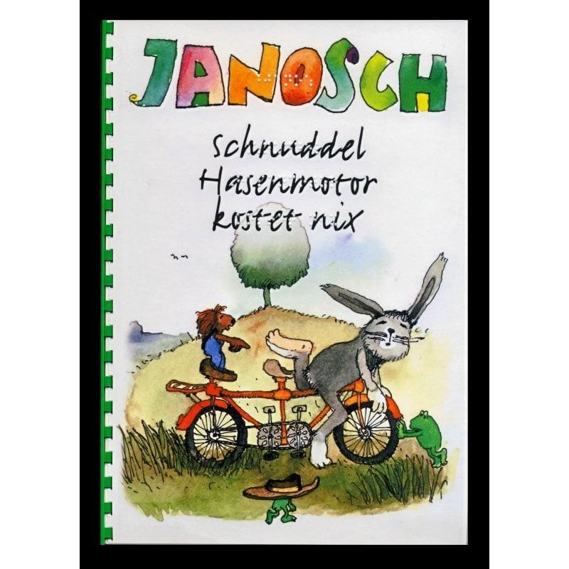 Ein Bild von dem Buch Schnuddel Hasenmotor kostet nix