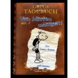 Ein Bild von dem Buch Gregs Tagebuch, Von Idioten umzingelt! Band 1