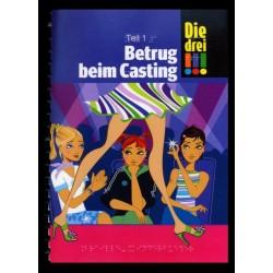 Ein Bild von dem Buch Die drei Ausrufezeichen, Betrug beim Casting, Band 2