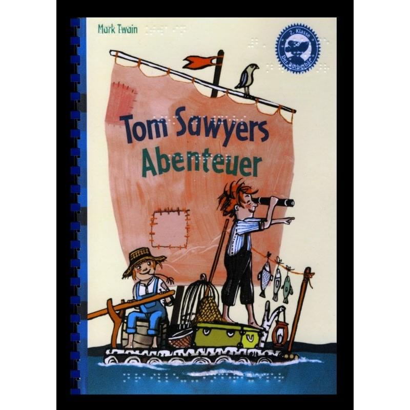 Ein Bild von dem Buch Tom Sawyers Abenteuer