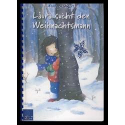 Ein Bild von dem Buch Laura sucht den Weihnachtsmann