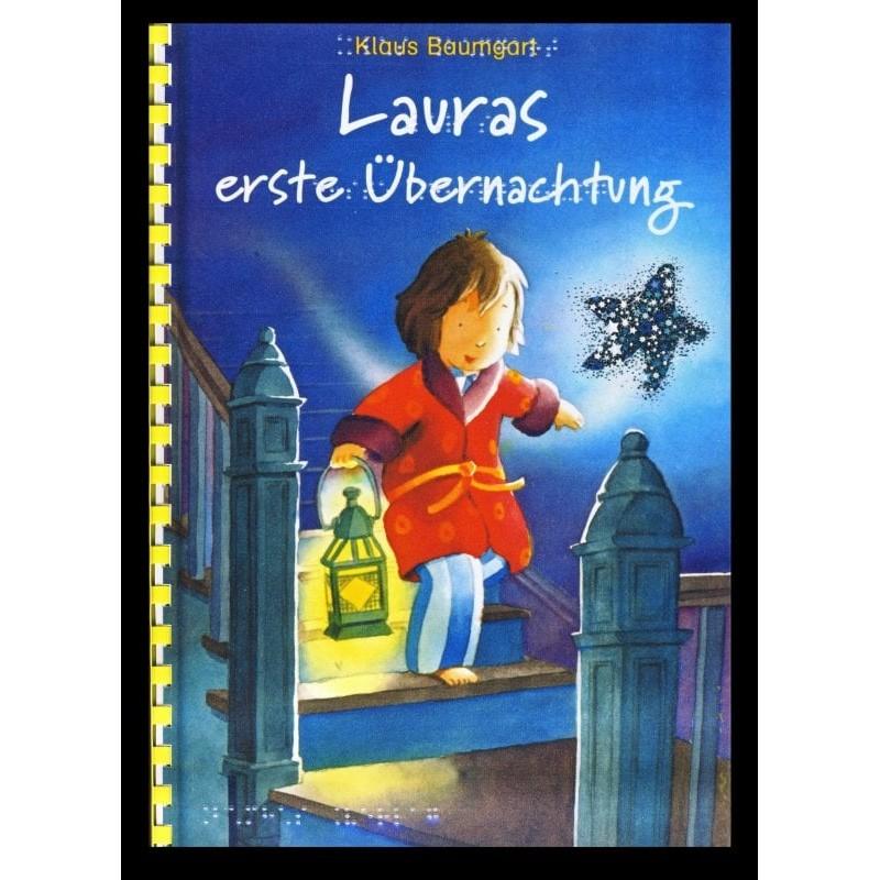 Ein Bild von dem Buch Lauras erste Übernachtung