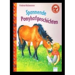 Ein Bild von dem Buch Spannende Ponyhofgeschichten