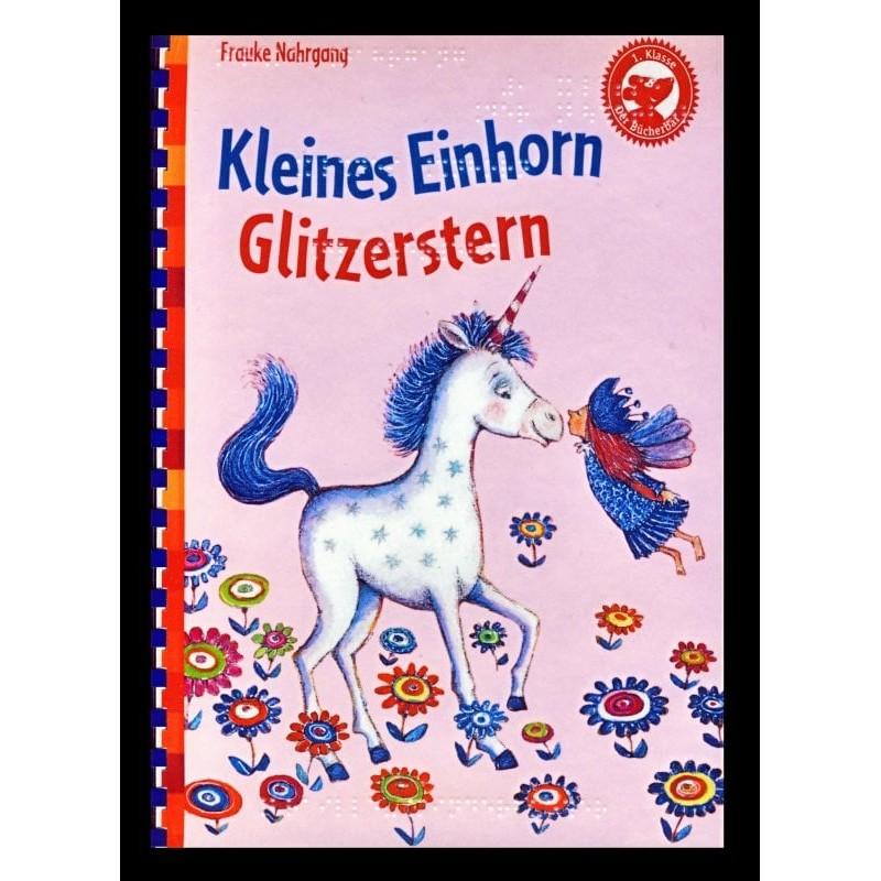 Ein Bild von dem Buch Kleines Einhorn Glitzerstern