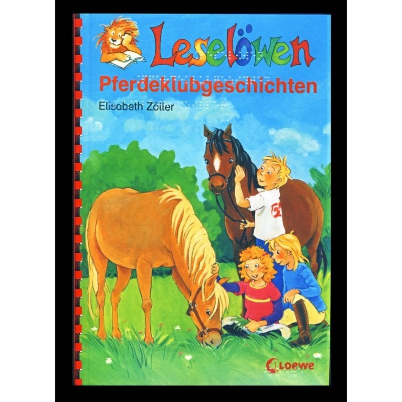 Ein Bild von dem Buch Leselöwen Pferdeklubgeschichten