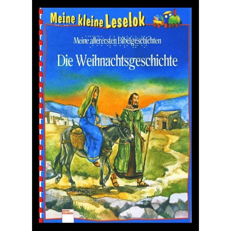 Ein Bild von dem Buch Meine kleine Leselok. Die Weihnachtsgeschichte. Band 4