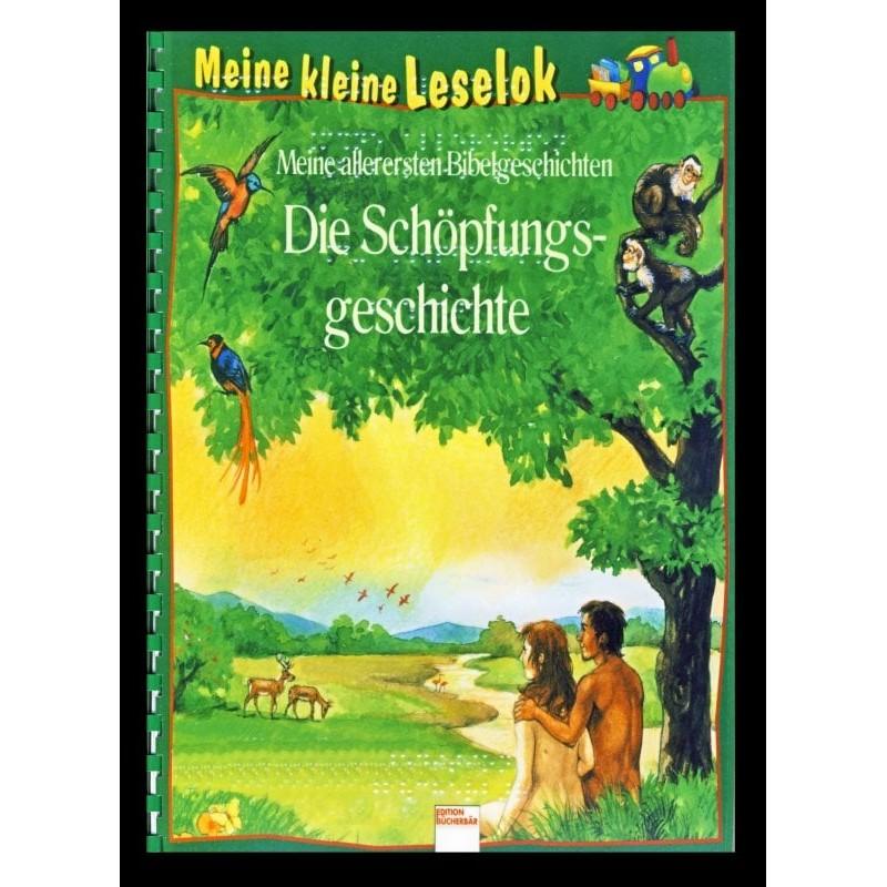 Ein Bild von dem Buch Meine kleine Leselok. Die Schöpfungsgeschichte Band 1