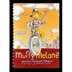 Ein Bild von dem Buch Muffy Melone und das fliegende Moped