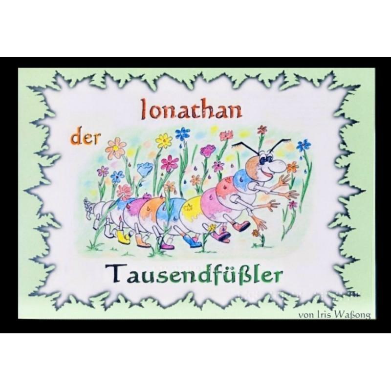 Ein Bild von dem Buch Jonathan der Tausendfüßler