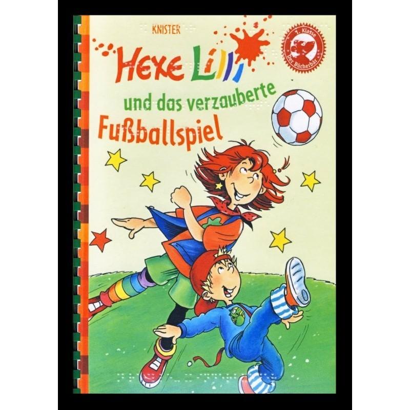 Ein Bild von dem Buch Hexe Lilli und das verzauberte Fußballspiel