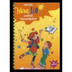 Ein Bild von dem Buch Hexe Lilli zaubert Hausaufgaben