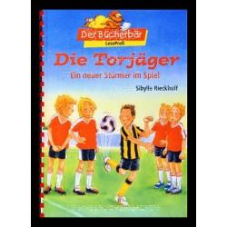 Ein Bild von dem Buch Ein neuer Stürmer im Spiel