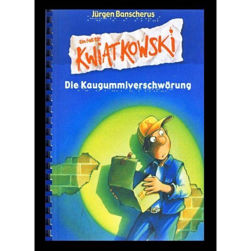 Ein Bild von dem Buch Ein Fall für Kwiatkowski - Die Kaugummiverschwörung. Band 1