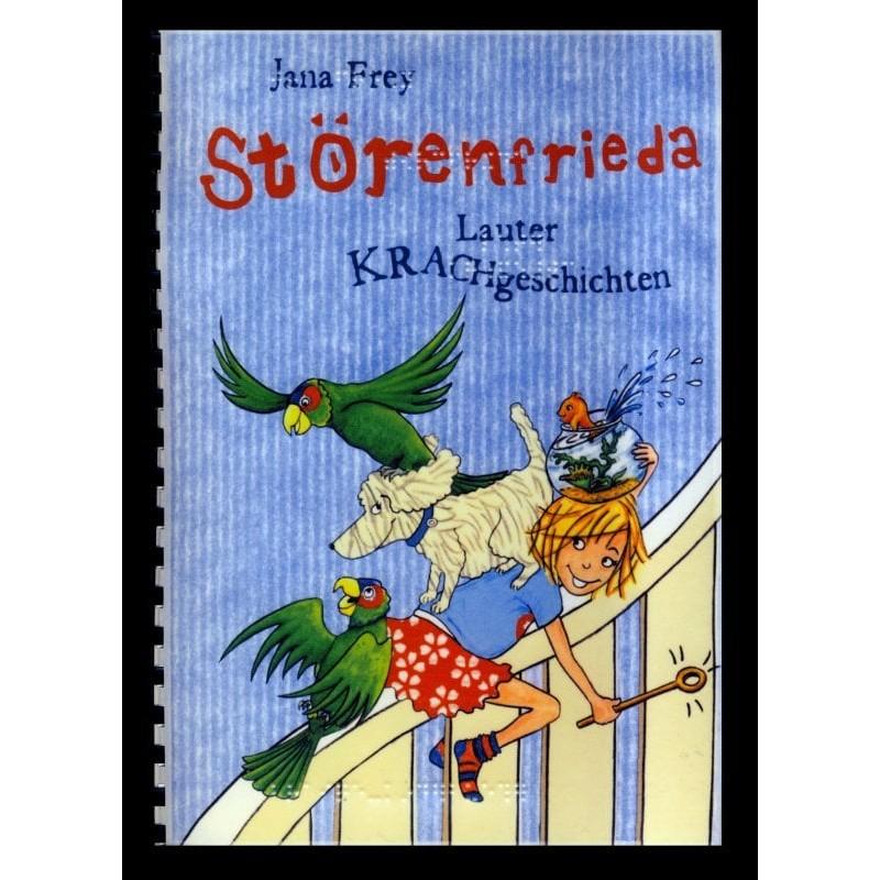 Ein Bild von dem Buch Störenfrieda. Lauter Krachgeschichten. Band 1