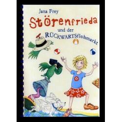 Ein Bild von dem Buch Störenfrieda und der Rückwärtsflohmarkt. Band 2