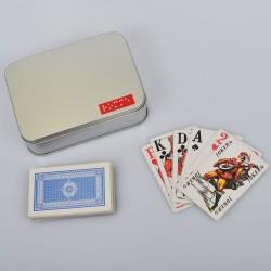 Ein Bild von dem Kartenspiel sehbehinderten  französisches Rommé  mit Symbolen