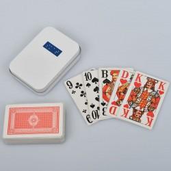 Ein Bild von dem Kartenspiel sehbehinderten Symbol - Skatspiel mit 32 Karten französisches Deck