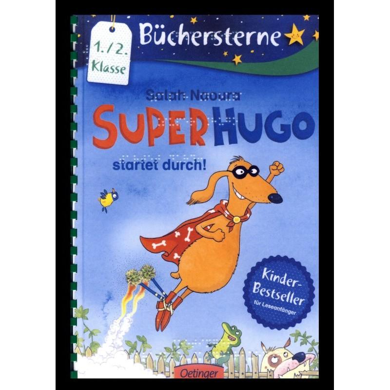 Ein Bild von dem Buch Superhugo startet durch! Band 1