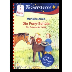 Ein Bild von dem Buch Die Pony-Schule. Ein Fohlen für Lotte. Band 2