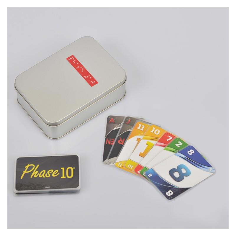 Ein Bild von dem Kartenspiel Phase 10