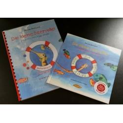 Gehe zu Die kleine Seenadel. Kleinfischschule Ahoi - Braillebuch + Bilderbuch