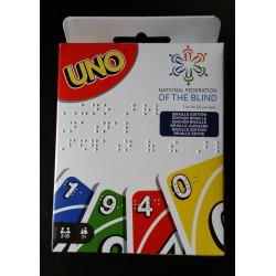 "© 1. Auflage, Juni 2020, Mattel Inc. ""UNO-classic Braille-Version"""