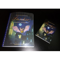 Gehe zu Sandor. Fledermaus mit Köpfchen - Braillebuch + Schwarzschriftbuch