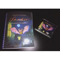 Gehe zu Sandor. Fledermaus mit Köpfchen - Braillebuch + Hörspiel CD