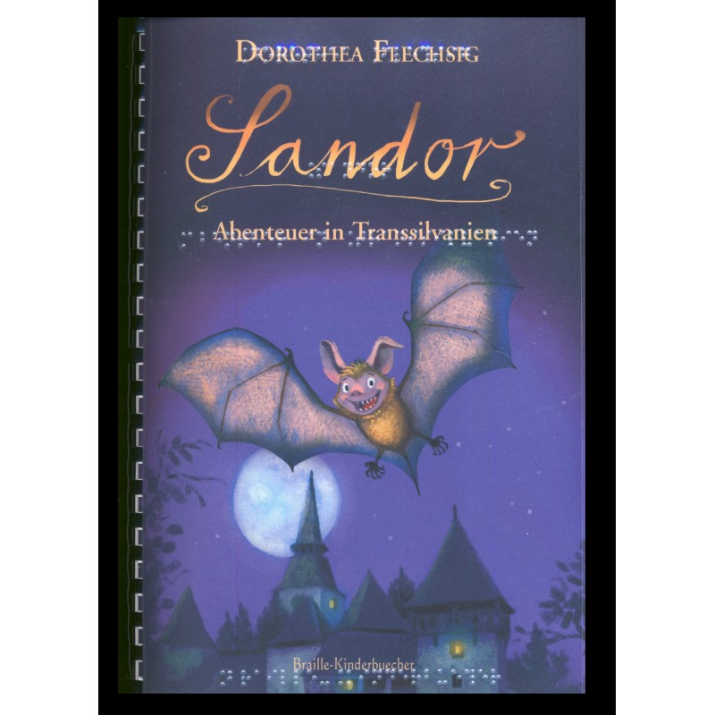 """© Glückschuh Verlag """"Sandor. Abenteuer in Transsilvanien""""  von Dorothea Flechsig"""