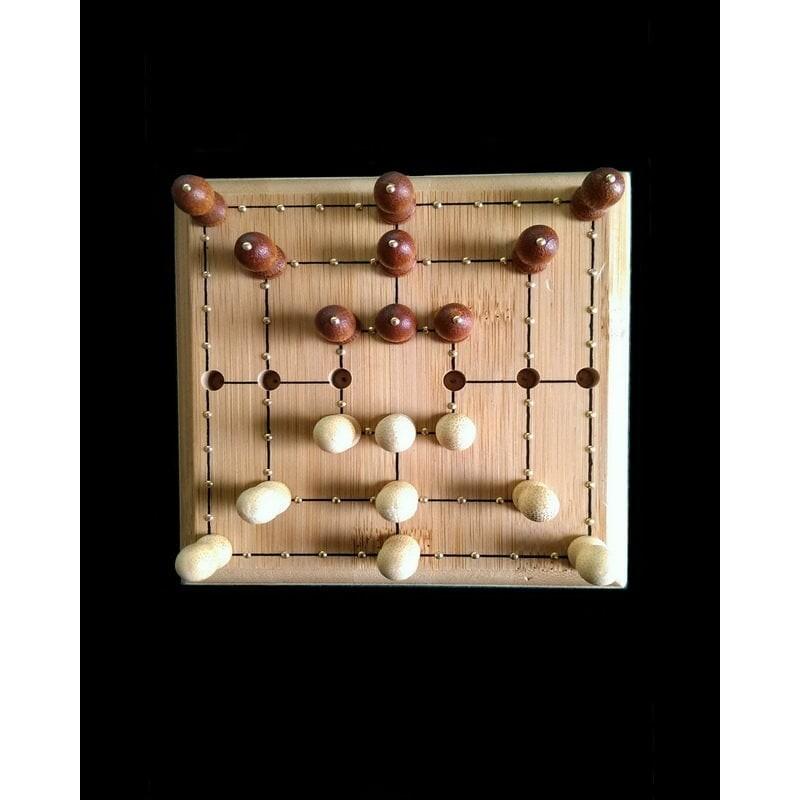 Ein Bild von dem Spiel Mühle Reisespiel