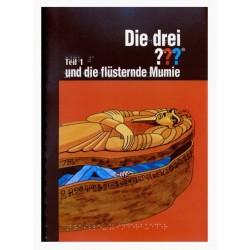 Ein Bild von dem Buch Die drei Fragezeichen und die flüsternde Mumie Band 2