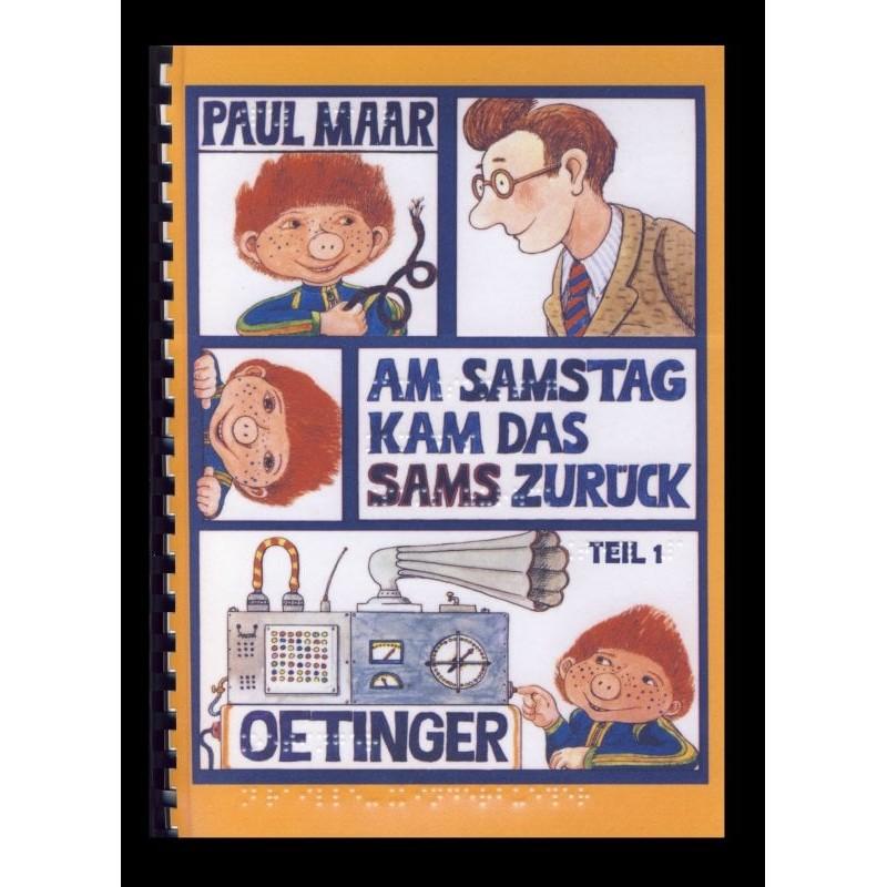 Ein Bild von dem Buch Am Samstag kam das Sams zurück. Band 2